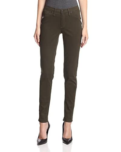 ABS Denim by Allen Schwartz Women's Straight Leg Twill Jean