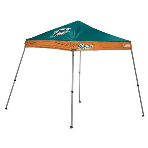 NFL Miami Dolphins 10 x 10-Feet Slant Leg Canopy