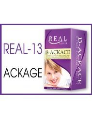 Real Elixir 13-Ackace 30 Capsules. Product Of Thailand 2Pack