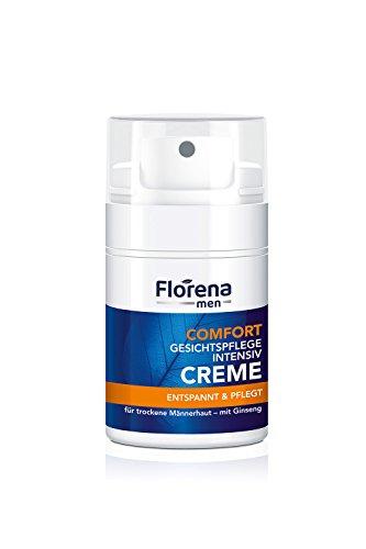 Florena men Comfort Gesichtspflege Intensivcreme mit Ginseng, 1er Pack, (1 x 50 ml)