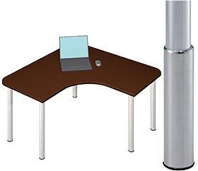 Garage パソコンデスク D2-LーSJ マホガニー