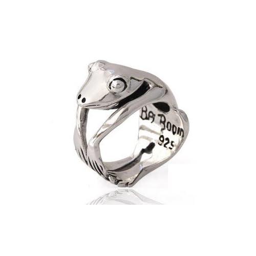 シルバーリング レディース 指輪 シルバーアクセサリー カエル・蛙 r0642 【11号】