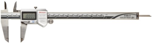 Mitutoyo ABSOLUTE 500-732-10 Digital Caliper, Stainless Steel, Battery Powered, Inch/Metric, 0-8