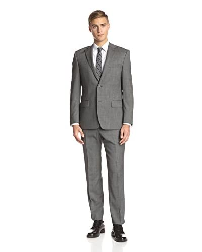 Ike Behar Men's Microdot Suit