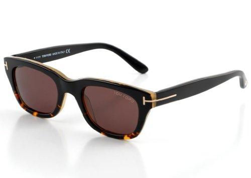 Tom Ford Snowdon FT0237 Sunglasses - 05J Black Havana (Roviex Lens) - 50mm