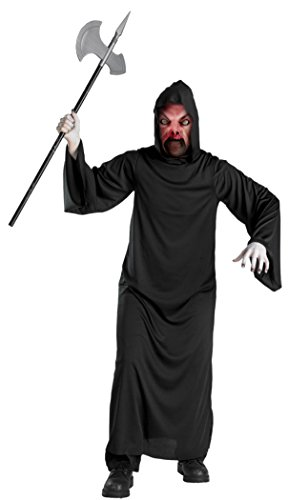 Boys Fire Demon Mask Robe Kids Child Fancy Dress Party Halloween Costume