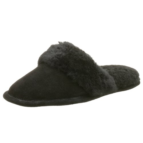 Cheap Jacques Levine Women's Sophie Suede/Shearling Scuff Slipper (B000HQP0NY)