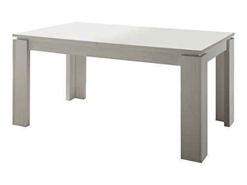trendteam-ET16256-Esstisch-Wohnzimmertisch-Tisch-weiss-Anderson-Pinie-ausziehbar-LxBxH-160-200x90x77-cm