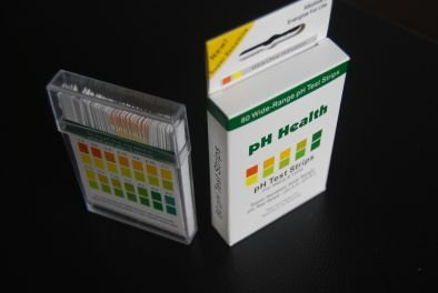 Ph Test Strips - Dual Color + .25 Increments for the Most Accurate Testing - Extra Sensitive. 100 Ct Great for keeping up on your body's health