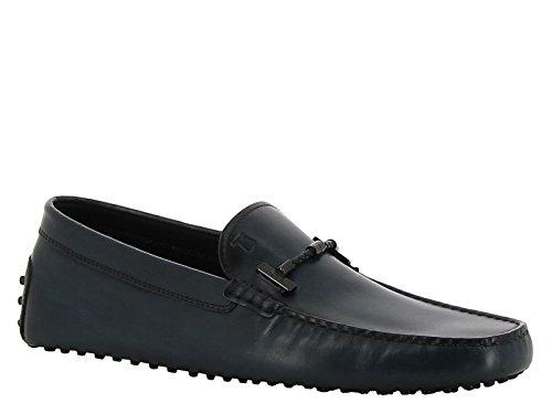 Mocassini car shoe Tod's da uomo in pelle blu - Codice modello: XXM0GW0L900D9CT800 - Taglia: 44 EU