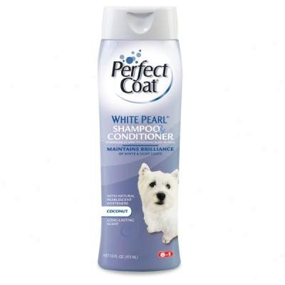 Bild von: Perfect Coat Shampoo & Conditioner - White Pearl by 8 in 1 Pet Products