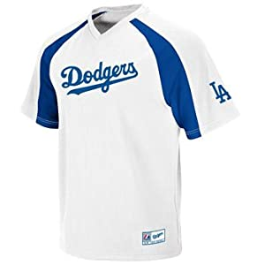 Los Angeles Dodgers Majestic White V-Neck Crusader Jersey - XXL: Amazon.ca: Sports & Outdoors