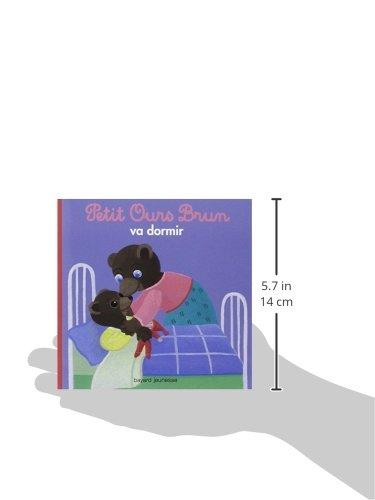 Libro petit ours brun va dormir di marie aubinais dani le - Petit ours va a l ecole ...