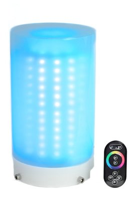 """Multi-Color Led """"Glowing Table"""" Light. Rechargeable! Remote Control! Heavy Duty Construction **New Style***"""