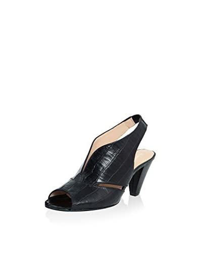 ROBERTO CARRIOLI Sling Pumps schwarz
