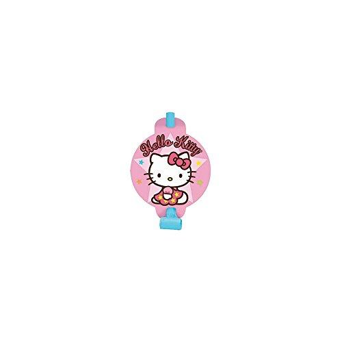 Amscan Unisex Adult Hello Kitty Balloon Dreams Blowouts Black Medium