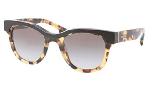 prada Prada PR27PS Sunglasses-NAI/0A7 Top Black/Medium Havana (Gray Grad Lens)-49mm