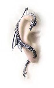 Alchemy Gothic Dragons Lure Earring for Right Ear (E274)