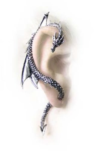 The Dragons Lure (Stud) Alchemy Gothic Earring