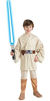 Star Wars Classic Luke Skywalker Child Costume Size: Medium (Us Sizes 8-10, For 5-7 Years)