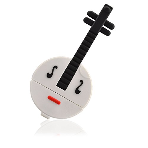 cl usb 2go instrument guitare ruan 3d blanc usb 2 0 cadeaux musique achat en ligne. Black Bedroom Furniture Sets. Home Design Ideas