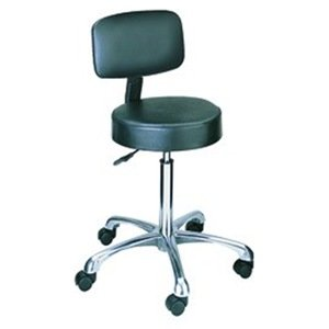 Height Adjustable Lab Stool With Casters Back Included Kitchen