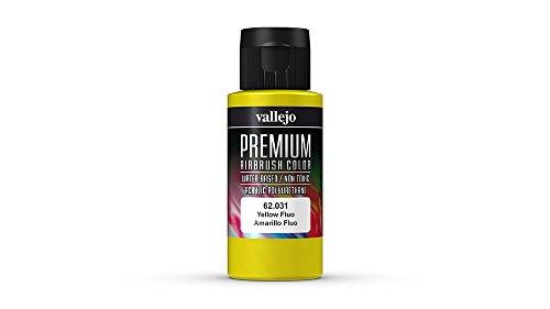 Vallejo Color Fluorescent Yellow Premium RC Colors