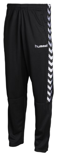 Hummel - Pantaloni Stay Authentic, poliestere, colore: Nero, Nero (nero), S