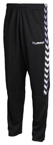Hummel - Pantaloni Stay Authentic, poliestere, colore: Nero, Nero (nero), S