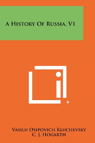 A History Of Russia, V1