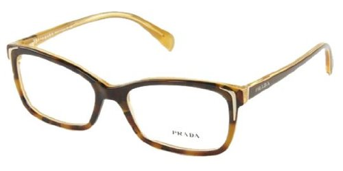 pradaPrada PR23OV Eyeglasses-FAL/1O1 Havana/Yellow-54mm