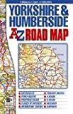 Yorkshire &amp; Humberside Road Map (A-Z Road Maps &amp; Atlases)