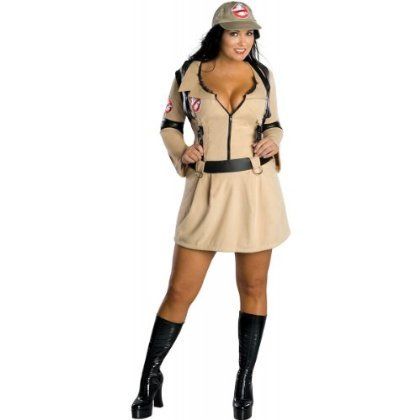 Ghostbuster Costume - Plus Size - Dress Size 16-20
