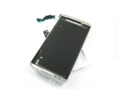 For Lg G2 At&T D800 / T-Mobile D801 White ~ Cover Housing Replacement ~ Mobile Phone Repair Part Replacement front-218035