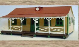 OO Scale Model (1/76th) Scale Model Kit Pavillion building(cricket,café,scout... This item is NOT a TOY - Please Read Full Product Description.