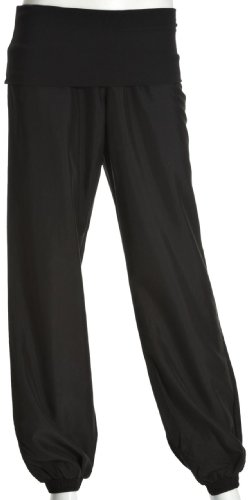 Puma Women's Shala Rolldown Woven Pants - Black, Size 8