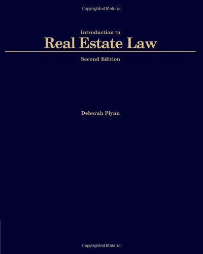 TPI: Introduction to Real Estate Law (Black Letter...