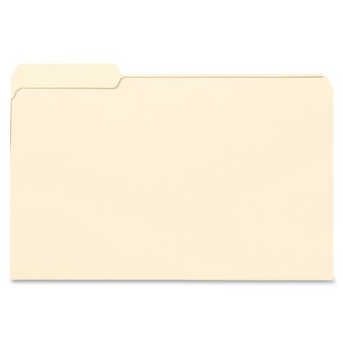 Smead File Folder, 1/3- Cut Tab Left Position, Legal Size, Manila, 100 Per Box (15331) (File Folders Left Tab Position compare prices)