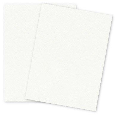 Canaletto Premium White - 20% Cotton Paper - 8.5X11 111lb COVER (300gsm) - 25 PK