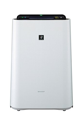 [PM2.5] corresponding SHARP plasma cluster equipped with humidified air cleaner white system KC-D70W