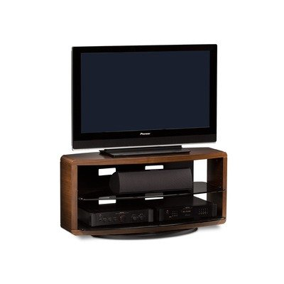 Cheap Valera 44″ TV Stand in Chocolate Stained Walnut (9724CHOC)