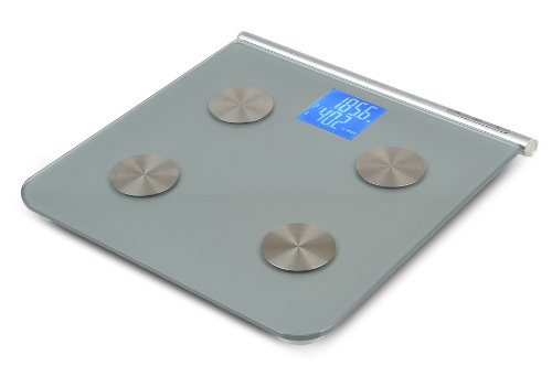 MIRA Digital Body Fat Scale with Large Lighted Display and BIA Body Fat Analyzer