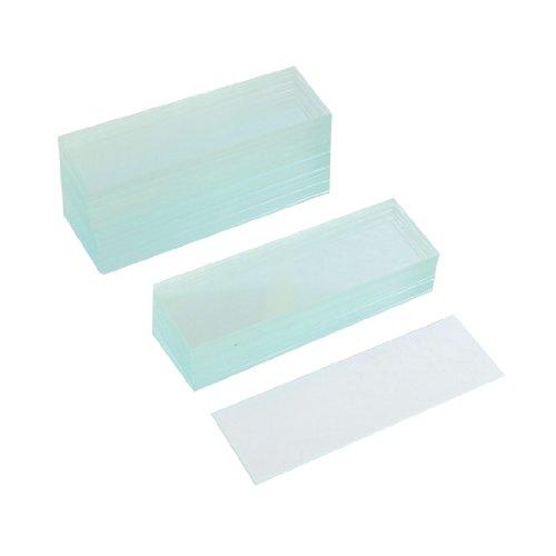 "50 Pcs Pre-Cleaned Microscope Blank Glass Slides 1""X3"""