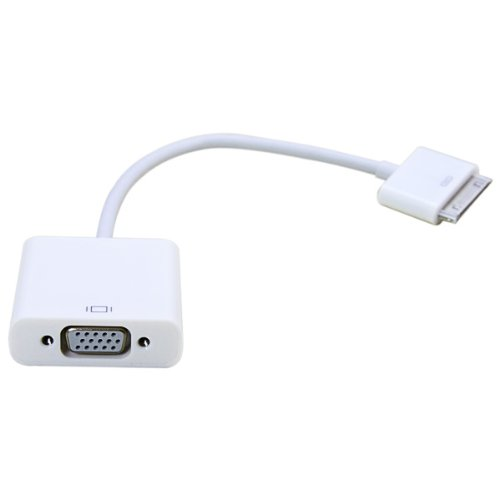 Apple iPad Dock Connector To VGA Cable Adapter