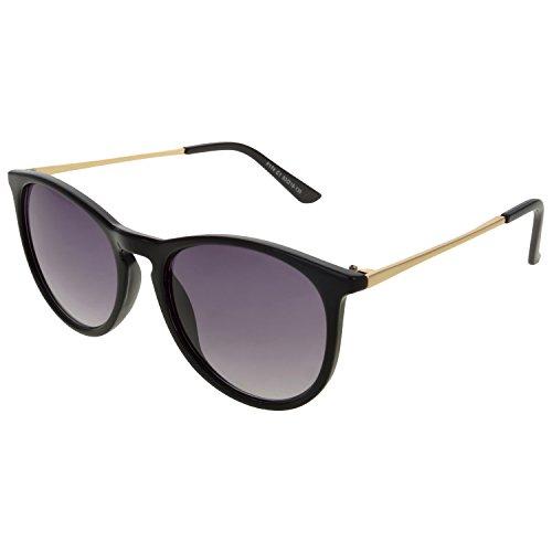 Wolf Eyes Goggle Sunglasses (Black)(wolfeyes sun f174 c-1 black)
