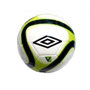 Umbro 400084 - Balón de fútbol sala, talla 3, color blanco / verde