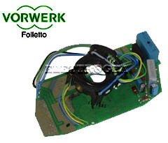 1 scheda elettronica originali per folletto vk 140 150 aspirapolvere vorwerk originale