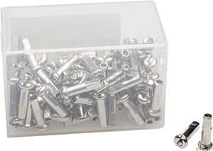 DT Swiss 1.8 x 16mm Silver Alloy Nipples, Box of 100