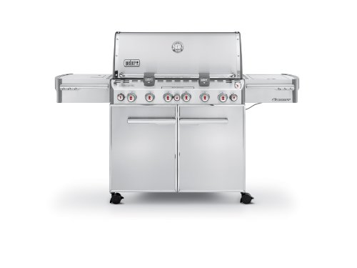Weber 7370001 Summit S-670 Propane Gas Grill