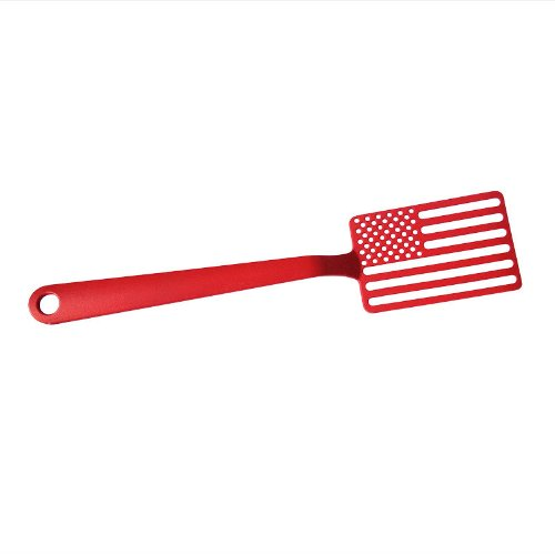 Star Spangled Spatula Color: Red